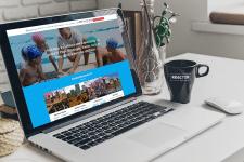 Сайт для чешских студентов программы Work and Trav