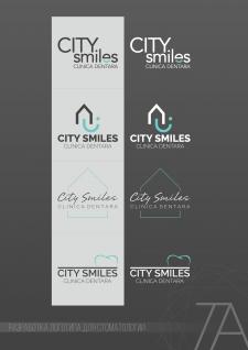 """Разработка логотипа для стоматологии """"City Smiles"""""""