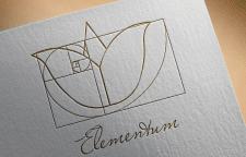 Elementum. Logo for jewelry