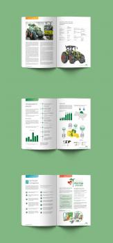 Верстка корпоративного журнала агрохолдинга