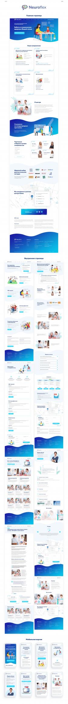 Дизайн сайта психологического центра
