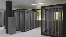 Визуализация помещения для собак