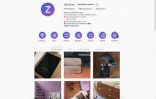Дизайн Instagram-аккаунта Zep.Photo