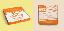 Дизайн коробки для пирогів