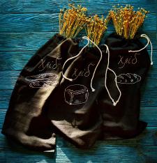 Съемка мешков для хлеба