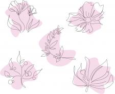 Иконки цветов