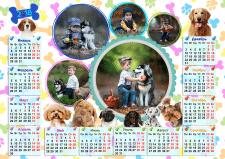 """Календарь """"Собаки"""""""