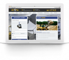 Сайт компании «Lekora»