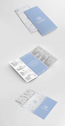 "Дизайн меню для ресторана ""The Bay"""