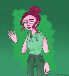 Токсичная дама