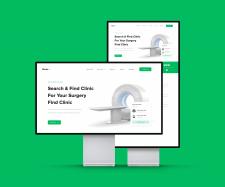 Дизайн больничного сайта веб версия