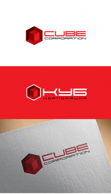 лого для CUBE CORPORATION