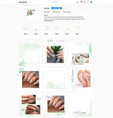 Дизайн инстаграма, оформление соц. сетей