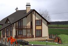 Проект дома и погреба