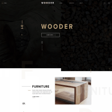 Wooder. Интернет-магазин мебели