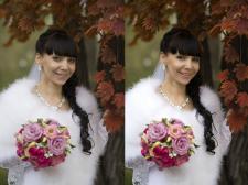 Ретушь невесты