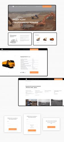 Дизайн сайта для Компании Монолит