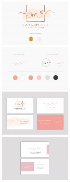 Разработка логотипа и визиток для мастера Makeup