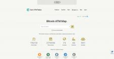 Coin ATM Radar Карта банкоматов для обмена криптов