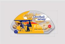 Иллюстрация для упаковки сыра