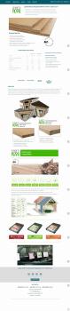 Landing Page по продаже изоляционных материалов