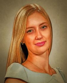 Портрет на полотні з фотографії