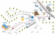 Схема проезда_отрисовка карты