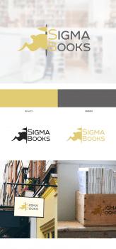 Логотип для книжного магазина