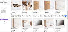 Наполнение интернет-магазина (Мебельная тематика)