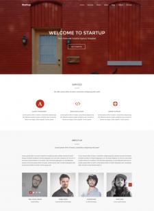 StartUp — сайт дизайн команды