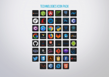 Technologies icon pack