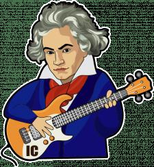 Стикеры Бетховен