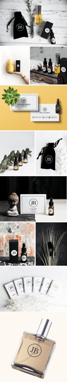 Фирменный стиль для парфюмерного бренда