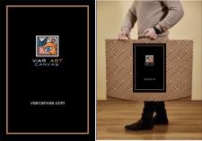 Арт-логотип и наклейка для фирменной сумки