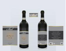 этикетка вино