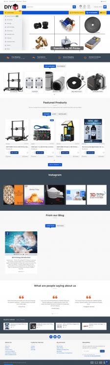 Онлайн-магазин 3D принтеров