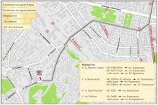"""Карта для Делового центра """"Метрополія"""""""