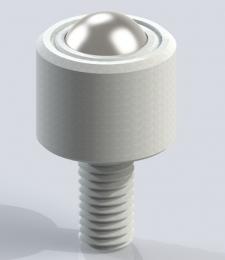 3D модель кулькової опори