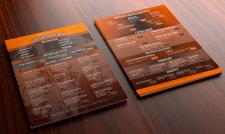 Коктейльная карта для ресторана
