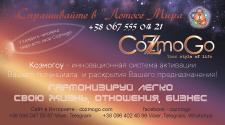 Визитка проекта Козмогоу