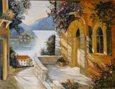 Вилла на озере Комо. Италия