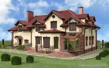 Дизайн-проект фасада в викторианском стиле