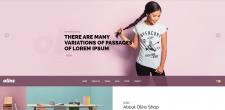Верстка Landing-page магазина одежды