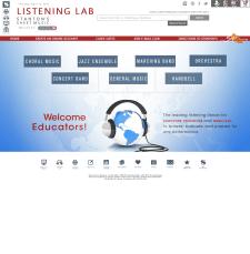 Дизайн Listening Lab