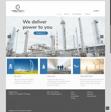 Создание сайта для международной газовой компании