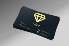 Визитка для компании NICO