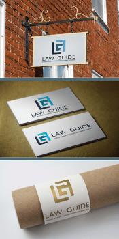 """Логотип юридичної компанії """"Law Guide"""""""