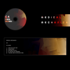 Дизайн страницы музыкальной группы и CD-диска