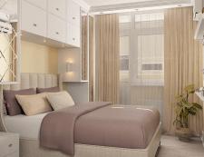 Спальня для молодой семьи / современная классика