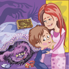 "проект "" Jacob and Mojo the Monster's Bedtime 2"""